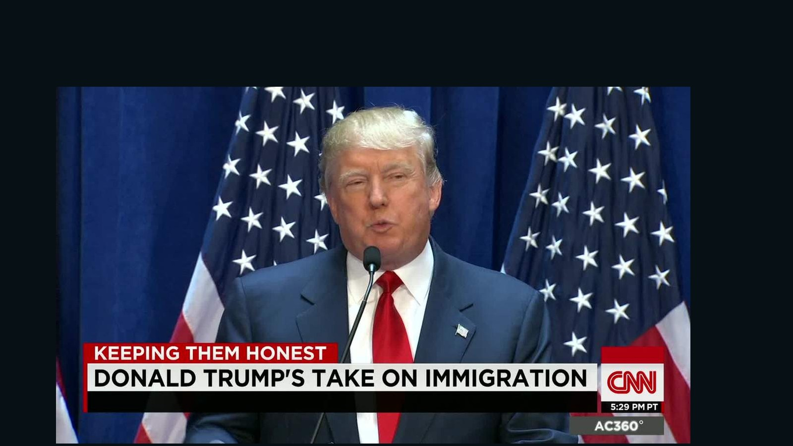 Trump leading the way to anti-immigrant sentiment